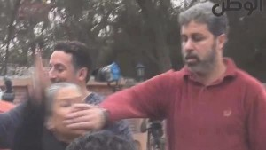 Muslim Brotherhood milishia attacking women