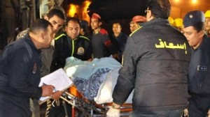 Muslim brotherhood terrorists bombing in Egypt