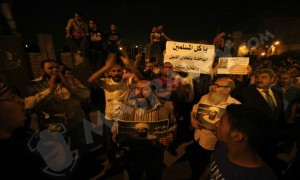 muslim brotherhood carrying bin laden images