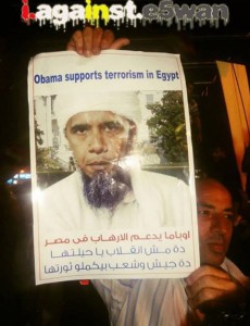 obama supports terrorism in egypt