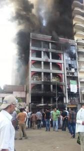 Brotherhood burn people in their own building