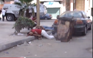 Brotherhood snippers kill shoty Egyptians in the head (1)