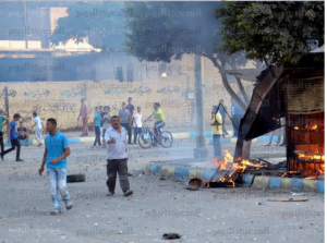Brotherhood violent demonstrations in Ismailia 30 August 2013