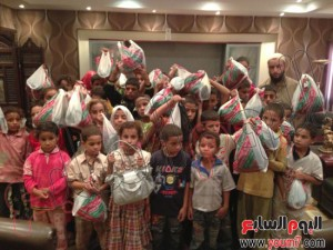Muslim Brotherhood kidnaping children from orphanages to Rabaa Square -MB Crimes