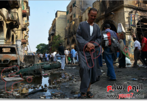 brotherhood attacked poor areas in egypt and burned people's homes 16 august 2013