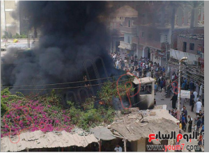 brotherhood burn private properties and home buidlings of egyptian citizens 16aug2013