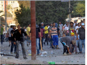brotherhood supporters acts of violence and terrorizing in Ismailia 30 August 2013