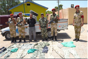 On 28 July 2013 teh military arrested that terrorist after he opened the fire against Military individuals in Al-Maleh Square In Al-Arish city Sinai and after they managed to arrest him, military found Army's uniform and he was found wearing a military suit