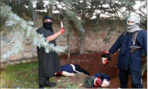 Alqaeda massacres in Syria