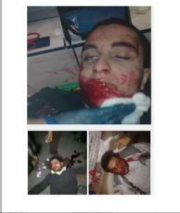 Egyptian demonstrators against Brotherhood regime got killed by Muslim brotherhood supporters Eletehadiya presidential palace