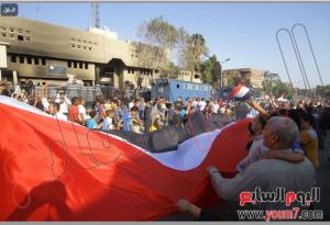 Egyptians celebrate freedom in kirdassa area