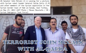John McCain with Al-Qaeda in Syria
