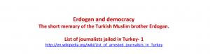 List of journalists jailed in Turkey