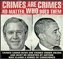 Obama an Bush are War Criminals
