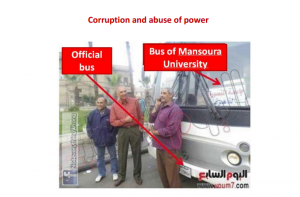 Public buses were put on service for free transport of pro Morsi demonstrators from the different provinces to the scene of demonstrations
