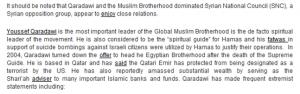 Qaradawy calls USA to attack Syria