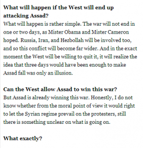 Robert Fisk - Syria is exactly like Iraq