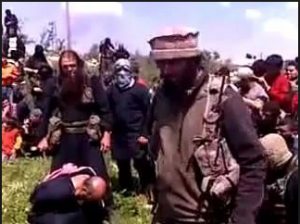 Syrian Rebels beheaded a Christian Priest in Syria