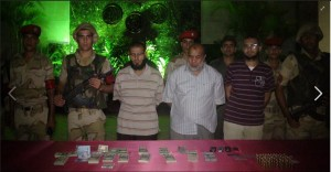 Three Muslim Brotherhood Members arrested on Cairo Fayoum Desert Road had in possession a lot of hard currencues: 90000 US$ -55000 Saudi Riyal & 6500 Qatar Riyal and 274 Jordan Dinar & 130 GBP & 72 Kuwait Dinar & 15 Libya Dinar, besides different kinds of rifles, weapons and live bullets on 2 September 2013