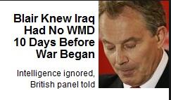 Tony Blair is a War Criminal