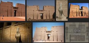 Edfu City Aswan Egypt