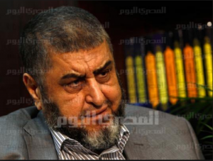 Khairat AlShater the deputy of the Muslim Brotherhood Leader in Egypt