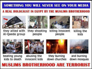 Brotherhood are a terrorist International Organization supported and financed by USA