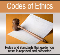 International News Agencies lost their credibility when they lost the Code of Ethics