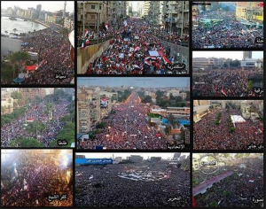 more than 33 million Egyptians participated in the 30th of June 2013 Revolution