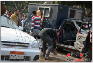 Muslim Brotherhood students attacked a police vehicle and tried to release prisoners in Cairo