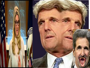 John Kerry and Marie Harf how about a big nice cup of shut the hell up