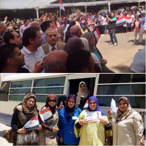 Egyptian presidential elections in Kuwait
