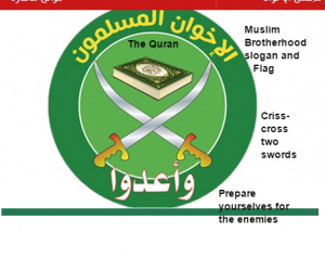 Muslim Brotherhood slogan and flag