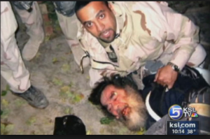 Saddam Hussein humiliation during capture