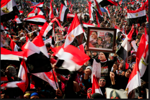 Sisi's popularity in Egypt